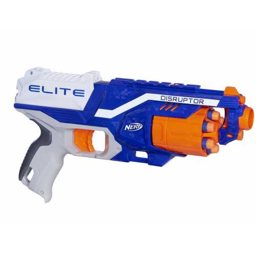 Blaster de jucarie Nerf Strike Elite Disruptor  - 6 proiectile incluse