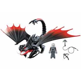 Playmobil Dragons – Deathgripper Si Grimmel How to train your dragon
