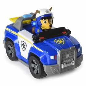 Figurina Paw Patrol Chase si masina de politie transformabila