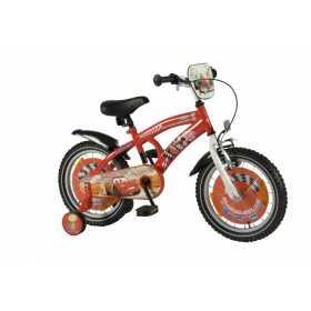 """Bicicleta pentru baieti ajustabila din otel cu roti ajutatoare 16"""" EandL CYCLES Cars"""