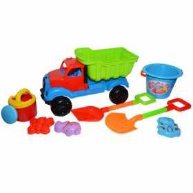 Jucarii pentru plaja - Camion cu accesorii pentru joaca in nisip