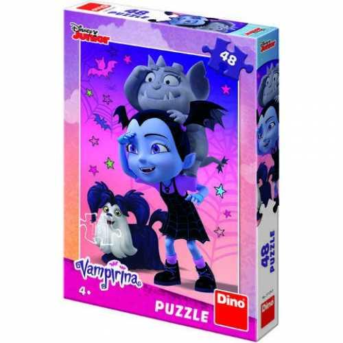 Puzzle Clasic Pentru Copii Vampirina 48 Piese