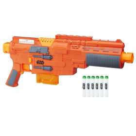Blaster Nerf Star Wars Seargent Jyn Erso GlowStrike SW R1 6 proiectile incluse