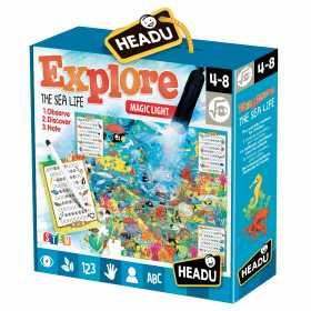 Joc Puzzle Headu  Explorati Viata marina 70 piese