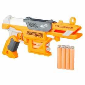 Arma de jucarie Nerf Strike Elite Falconfire Portocaliu