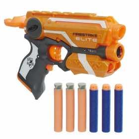 Pistol de jucarie Nerf n-Strike Elite Firestrike cu laser