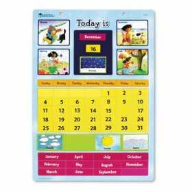 Calendar magnetic cu ghid de activitati - Learning Resources