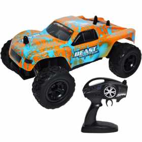 Masina de jucarie 4x4 pentru copii cu telecomanda, RC, Scara 1:24, Land Monster Truck