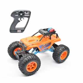 Masina de teren Maisto 4 x 4 Off-Road Dominator cu telecomanda RC, 1:12 2,4 GHz, Rock Crawler 3XL