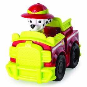 Figurina Paw Patrol Marhall cu vehicul de curse