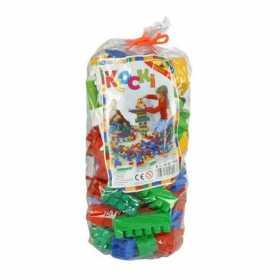 Cuburi constructie pentru copii colorate 98 piese