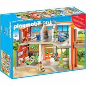 Set constructie cu figurine Playmobil - Spitalul de copii