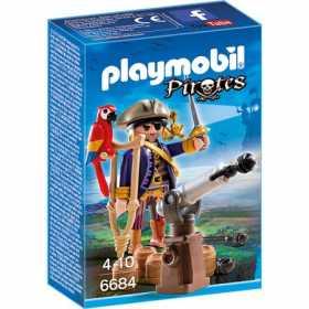 Set figurine Playmobil  - Capitanul Pirat