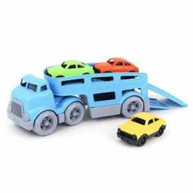 Camion de jucarie Learning Resources cu remorca pentru transportat masini