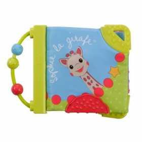Carte de joaca pentru dentitie colorata Girafa Sophie Vulli