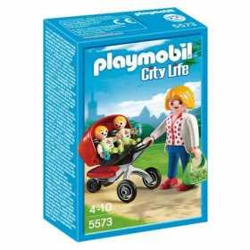 Playmobil Preschool, Carucior cu Gemeni