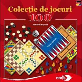 Colectie jocuri de societate Noris 100 jocuri