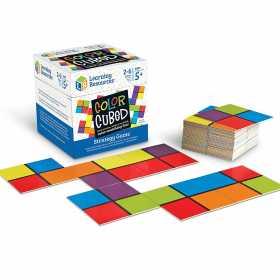 Set educativ de strategie Learning Resources - Joc de asociere a culorilor Cubul culorilor