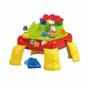 Cuburi constructie Clemmy moi parfumate cu masuta de joaca