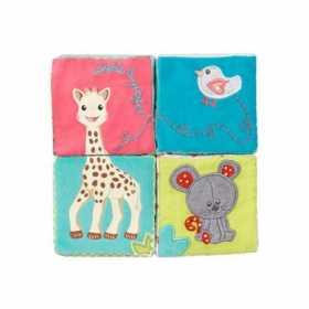 Cuburi educative de plus cu activitati Girafa Sophie Vulli