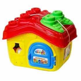Cuburi pentru construit moi parfumate pentru copii Clemmy in casuta 15 piese