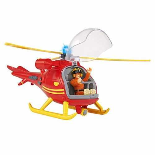 Elicopter Wallaby cu Figurina Pompierul Sam