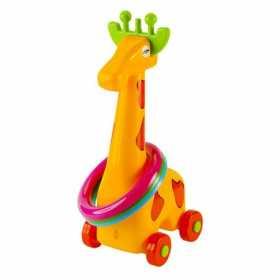 Jucarie interactiva pentru copii - Girafa cu cercuri 33  cm
