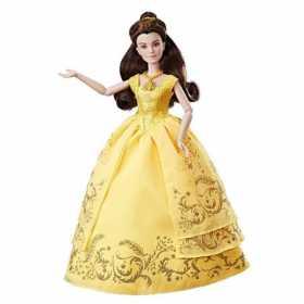 Papusa Disney Princess Frumoasa si Bestia Belle care canta