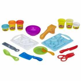 Set Play-Doh Kitchen Creations Unelte de bucatarie 6 culori, 9 piese