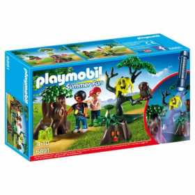 Joc Playmobil Large Holiday Camp, Plimbare pe inserat