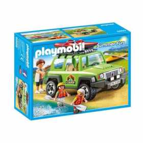 Joc Playmobil Large Holiday Camp, Vehicul de teren