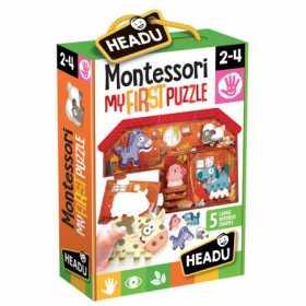 Joc Puzzle Montessori Primul meu Puzzle Ferma