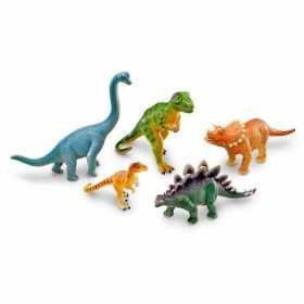Set 5 figurine de jucarie cu aspect realistic Learning Resources - Dinozauri