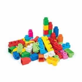 Set Clemmy 60 cuburi constructii moi parfumate in plasuta