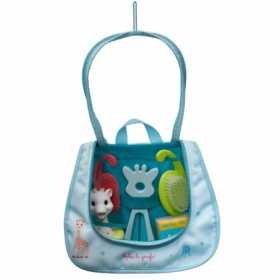 Set accesorii de baie pentru bebelusi Essentials Vulli Girafa Sophie,