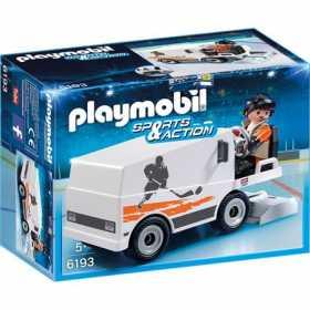 Set figurine Playmobil -Masina de curatat gheata