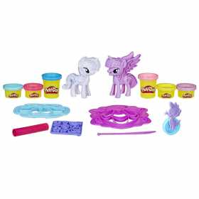 Pasta modelatoare  Play-doh My Little Pony 6 culori