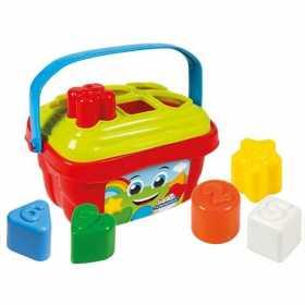 Cutie sortator pentru invatarea formelor si culorilor 6 forme Clementoni Fun Bucket