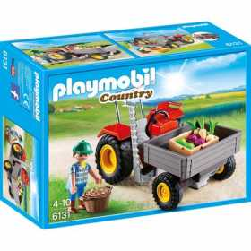 Joc Playmobil, Country Farm, Tractor de recoltare