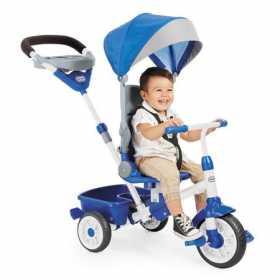 Tricicleta pentru copii Little Tikes Perfect Fit 4 in 1 Albastra