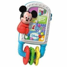 Jucarie zornaitoare Clementoni sub forma de smartphone, Mickey Mouse