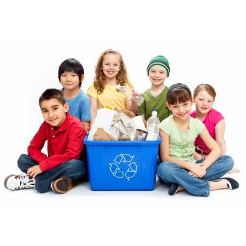 Sa-i educam pe cei mici sa recicleze
